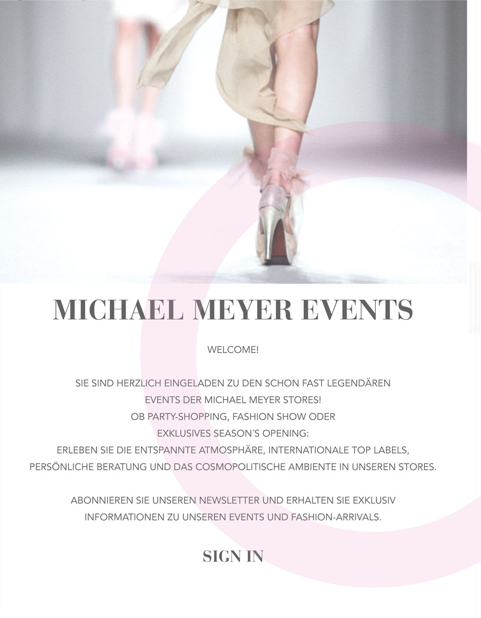 Michael Meyer Events