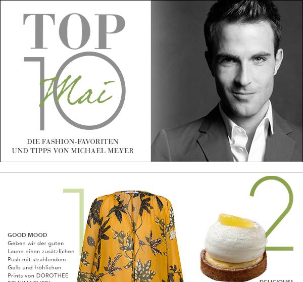 Top Ten Mai by Michael Meyer