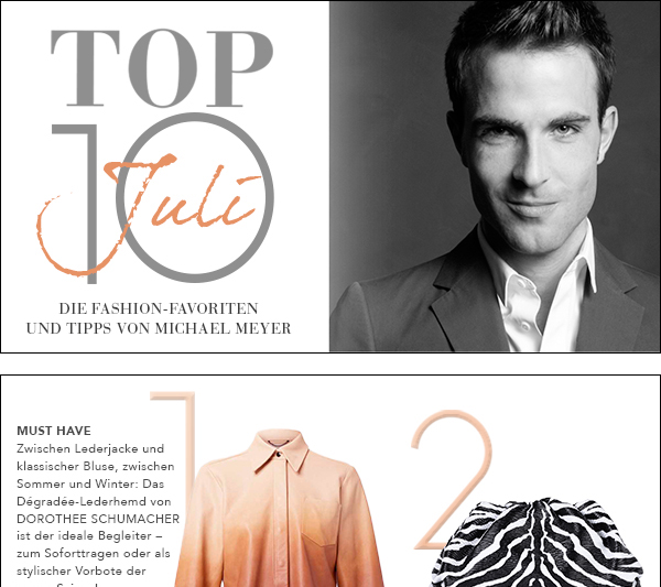 Top Ten Juli by Michael Meyer