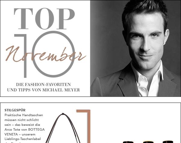 Top Ten November by Michael Meyer